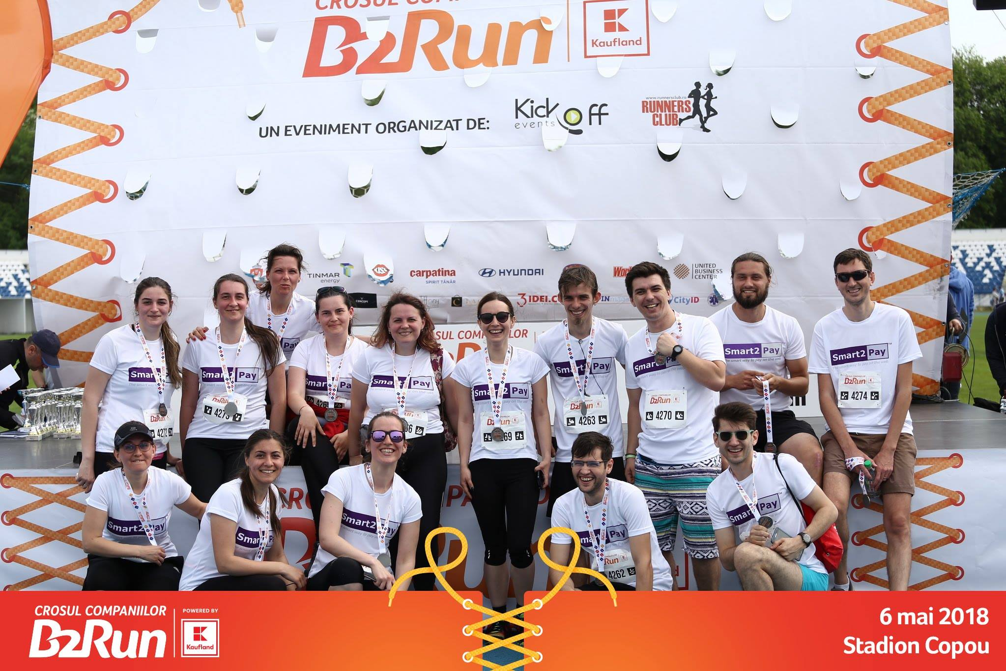 Smart2Pay 2018 Running Team